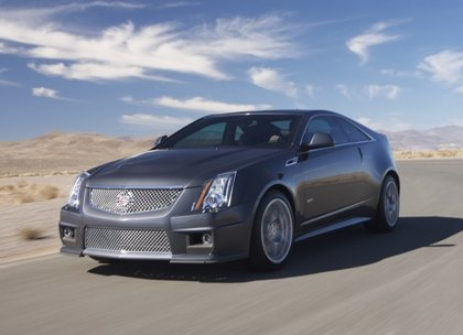 Cadillac CTS-V Coupe 2011 lộ diện