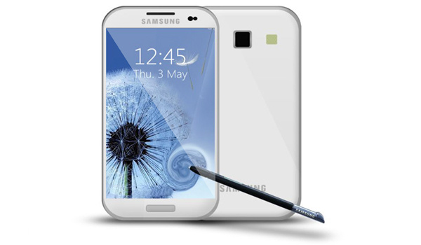 Galaxy Note 2 cạnh tranh iPhone 5