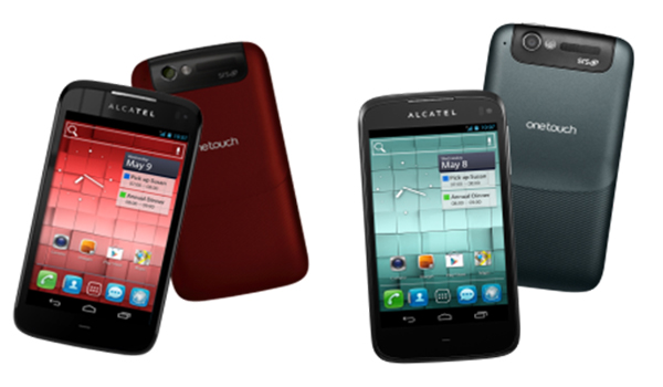 Hai smartphone Alcatel One Touch mới