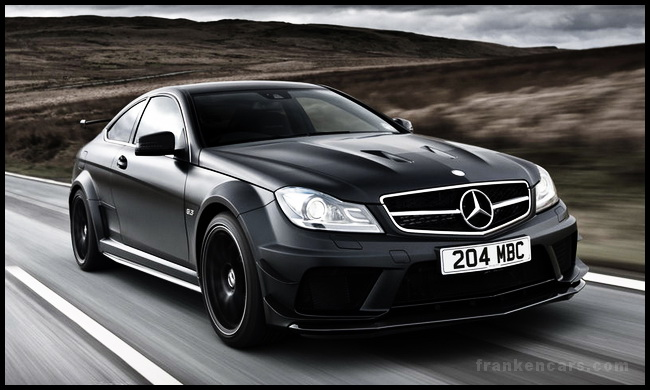 """Ngầu"" như Mercedes C63 AMG 2013 Black Series Coupé"