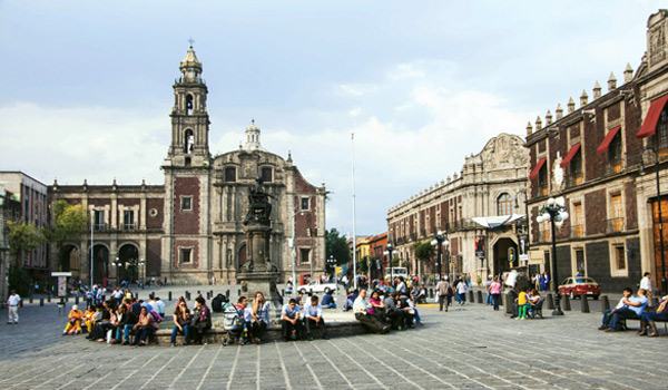 Cuộc sống nồng nhiệt ở Mexico city