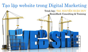 5 bước tạo lập website trong Digital marketing