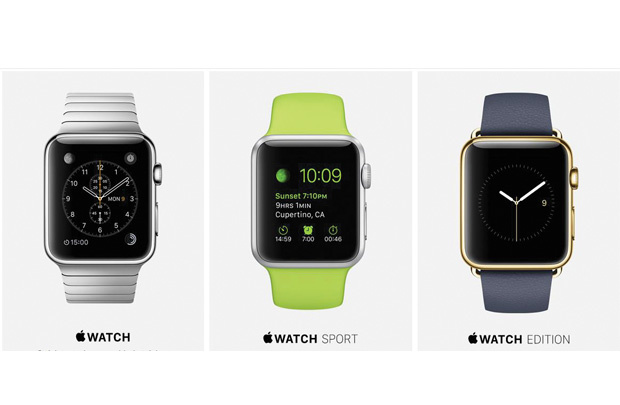 Apple Watch trong tay