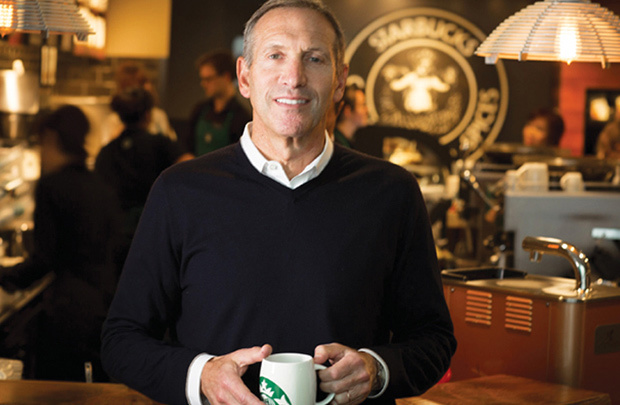 howard schultz leadership essay Thirty years ago, howard schultz got into the coffee business with one goal in mind: to enhance the personal relationship between people and their coffee.