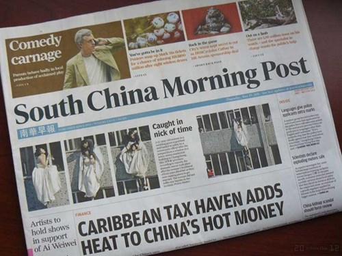 Alibaba mua tờ South China Morning Post doanhnhansaigon
