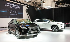 Crossover hạng sang Lexus RX 2016