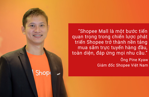 Shopee ra mắt Shopee Mall