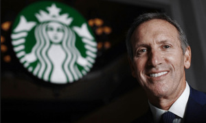CEO Starbucks Howard Schultz vẫn