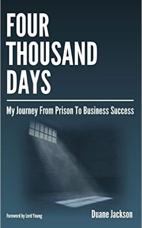 sách Four Thousand Days My Journey From Prison To Business Success