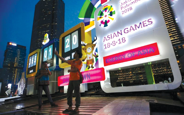 Asian Games 2018: Canh bạc của Indonesia