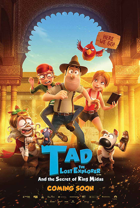 mua phim bom tan he 2018 tad the lost explorer and the secret of king midas doanhnhansaigon