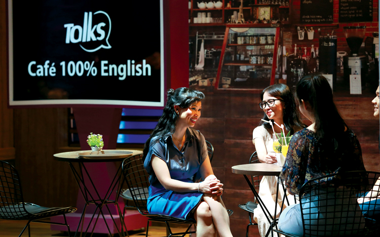 Chuỗi Talks Café 100% English