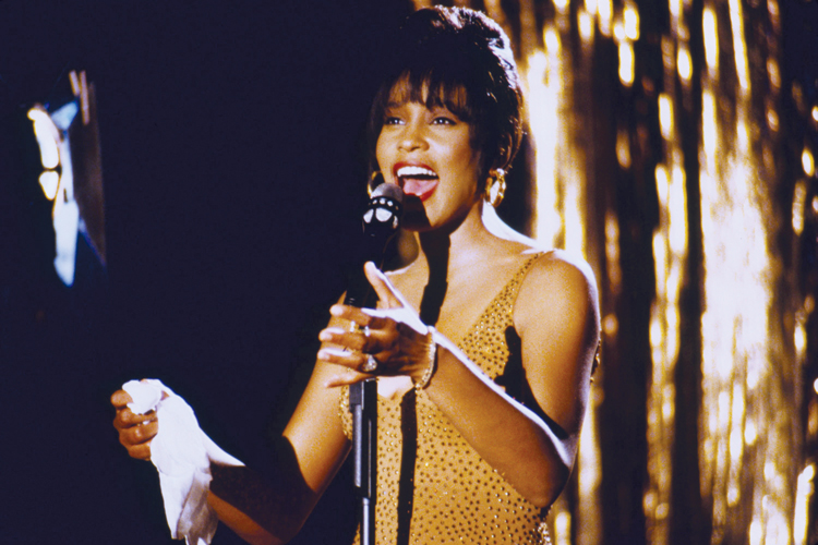 Whitney Houston trong phim The Bodyguard