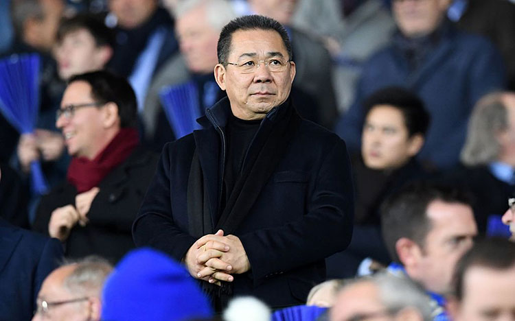 ty phu Vichai Srivaddhanaprabha de che ban le King Power International doanhnhansaigon