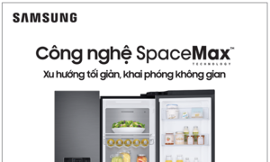 "Samsung ra mắt thế hệ tủ lạnh ""Side by Side"" RS5000"