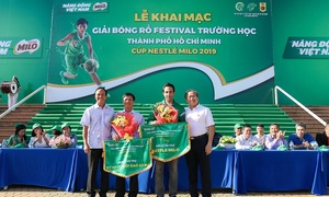 156 đội tranh tài Cup Milo 2019