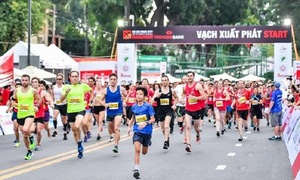 Khởi động Giải Marathon quốc tế TP.HCM Techcombank lần 3