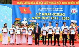 Sacombank tặng 3.559 suất học bổng cho học sinh, sinh viên năm 2019
