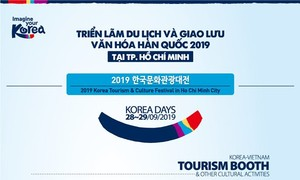 Triễn lãm Du lịch và giao lưu văn hóa Hàn Quốc 2019
