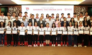 Công bố học bổng SCG Sharing The Dream 2019