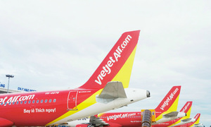 Vietjet: Doanh thu, lợi nhuận vận tải hàng không tăng mạnh