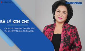 Bà Lý Kim Chi - Chủ tịch Hội Lương thực Thực phẩm (FFA) - Chủ tịch HĐQT Tập đoàn Tân Đông Hiệp