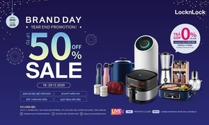 Lock&Lock Brand Day - Year End Promotion