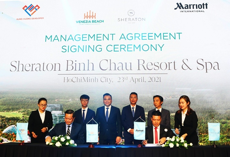 Hưng Vượng Developer chọn Marriott International vận hành Venezia Beach - Luxury Residences & Resort