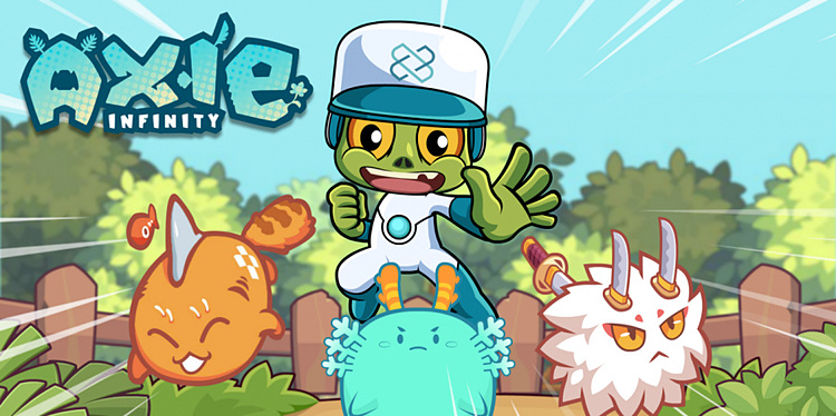 Giao diện của game Axie Infinity