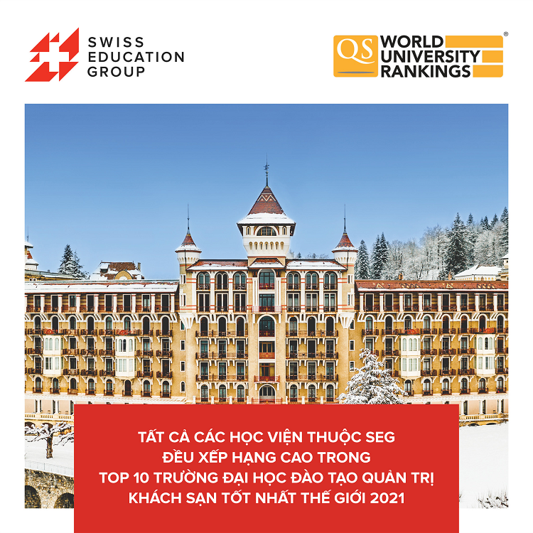 Swiss Education group tiếp tục xếp thứ hạng cao trong top 10